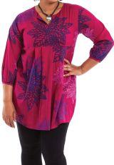 Tunique femme grande taille ample et colorée Karisma 284619