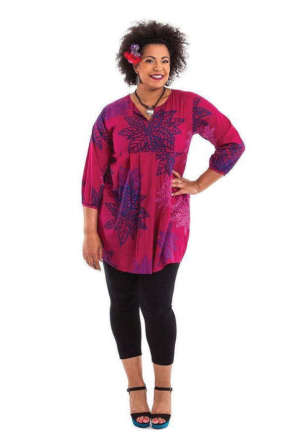Tunique femme grande taille ample et colorée Karisma 284620
