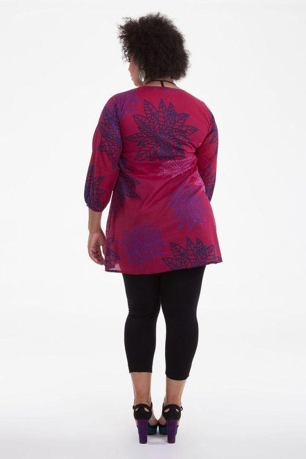 Tunique femme grande taille ample et colorée Karisma 284621