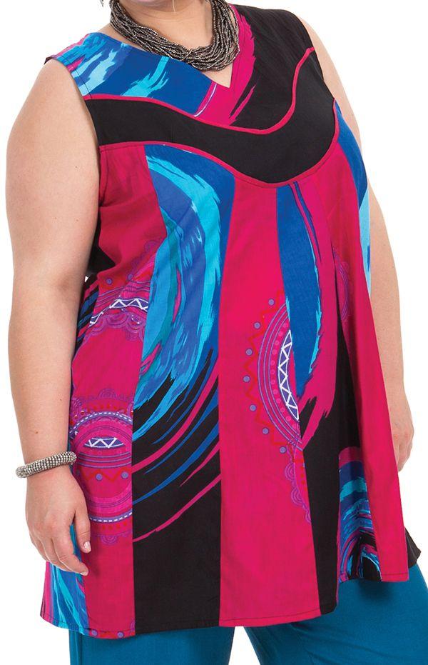 Tunique femme grande taille ample et pas chère Louna 284721
