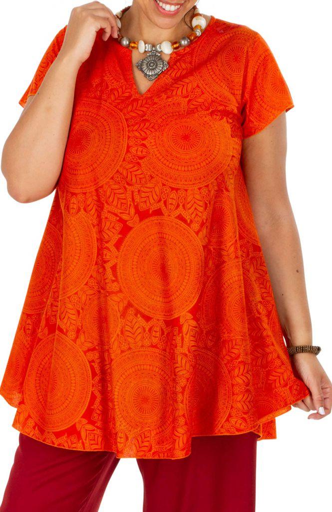 Tunique femme grande taille ample style décontractée Millie 306354
