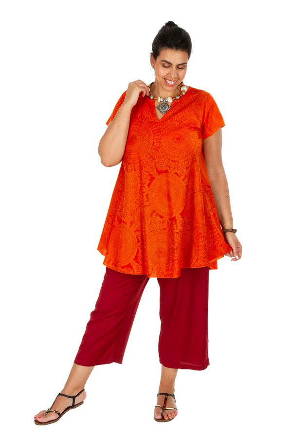 Tunique femme grande taille ample style décontractée Millie 306355