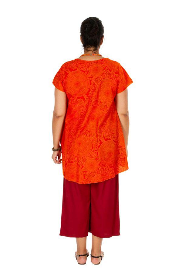 Tunique femme grande taille ample style décontractée Millie 306356
