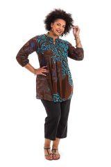 Tunique femme grande taille originale aux manches 3/4 Ella 284617