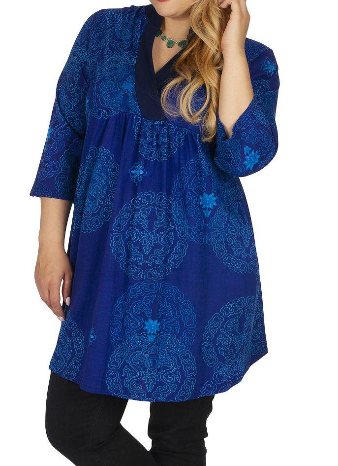 Tunique femme grande taille originale et flashy Djelfa 313455