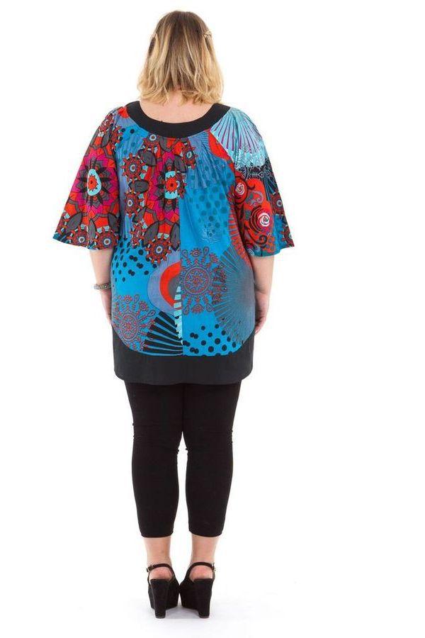 Tunique femme grande taille pas chère pour l'été Anais 284702