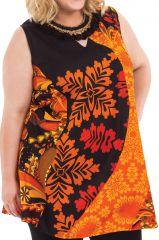 Tunique femme grande taille sans manches pas chère Souila 284726