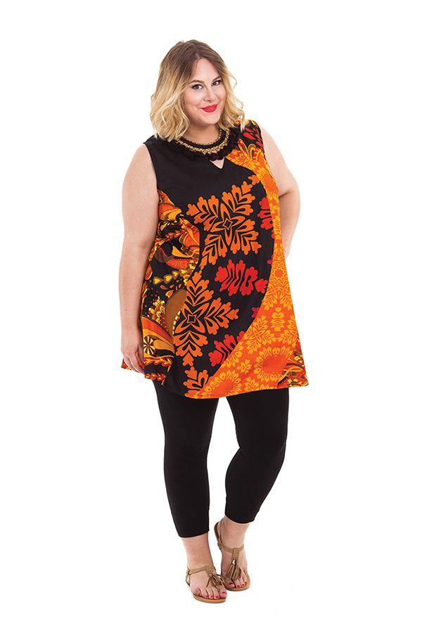 Tunique femme grande taille sans manches pas chère Souila 284727