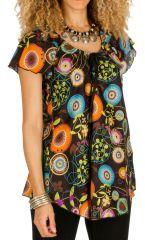 Tunique femme hippie en coton pour l' été Alexia 292187