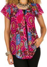 Tunique femme imprimée en coton pour l' été Alexia 292195