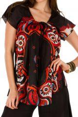 Tunique femme imprimée en coton pour l' été Camilia 292242
