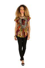 Tunique femme imprimée en coton pour l' été Elina 289615
