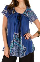 Tunique femme imprimée en coton pour l'été Miranda 292270