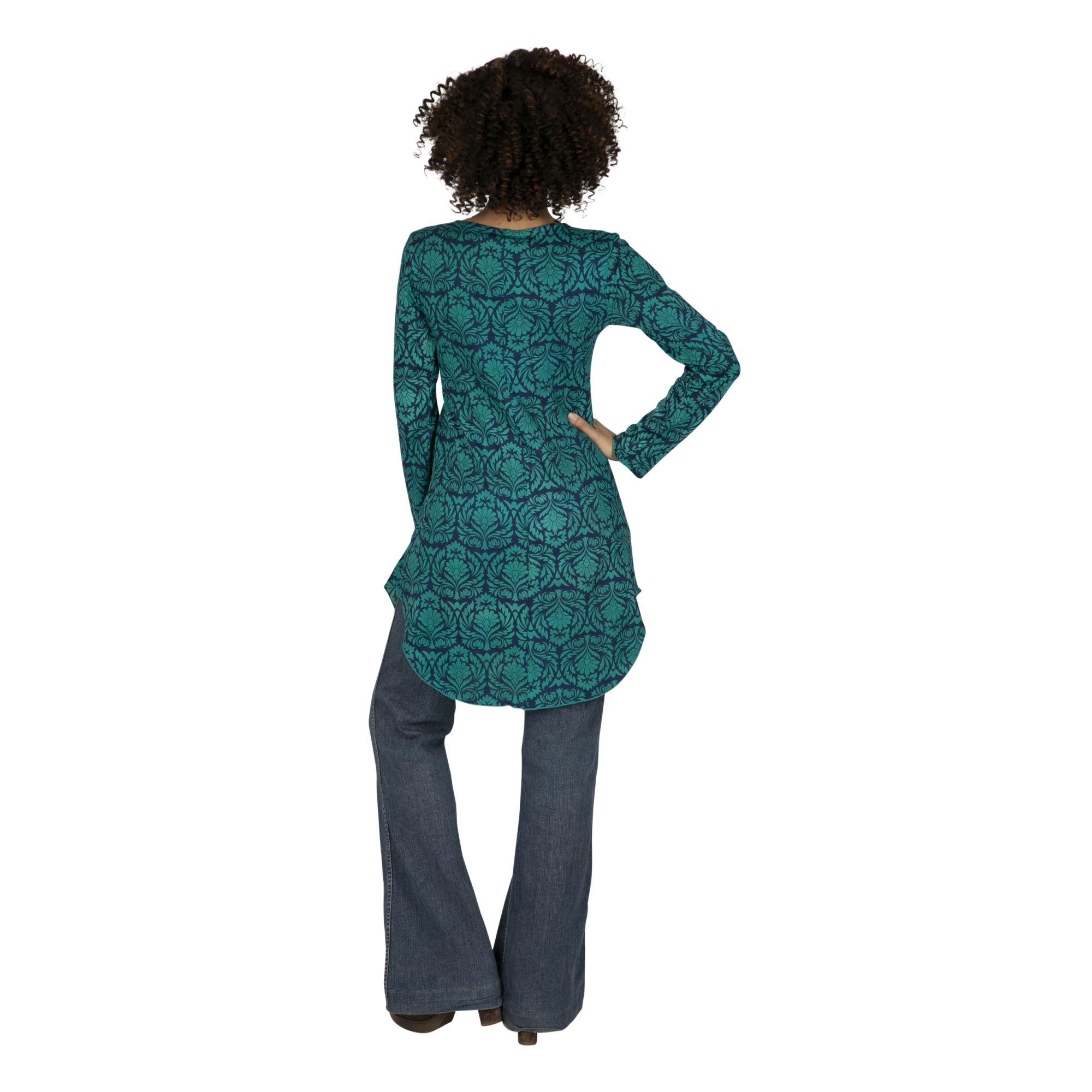 Tunique femme longue bohème en coton Puntacana