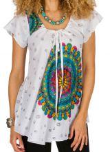 Tunique femme mandalas en coton pour l' été Jennyfer 292209
