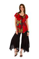 Tunique femme motif papillon en coton pour l' été Jennyfer 289554