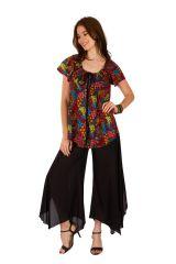 Tunique femme motifs floraux en coton pour l' été Jennyfer 289572