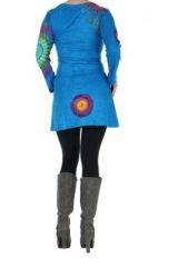 Tunique femme originale bleue marlyne 266369