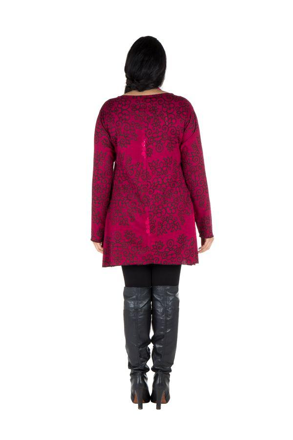 Tunique femme Originale en grande taille à mandalas Lazy Rose 301080
