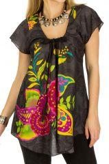 Tunique femme originale et colorée en coton pour l' été Elina 292164