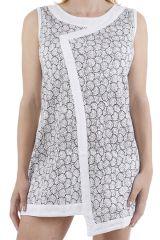 Tunique femme ou robe courte asymétrique ethnique Gloria 311376