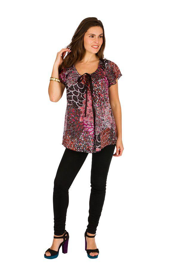 Tunique femme petit prix en coton pour l' été Alexia 289593