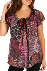 Tunique femme petit prix en coton pour l' été Alexia 292189