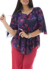 Tunique femme ronde Lorena 308574
