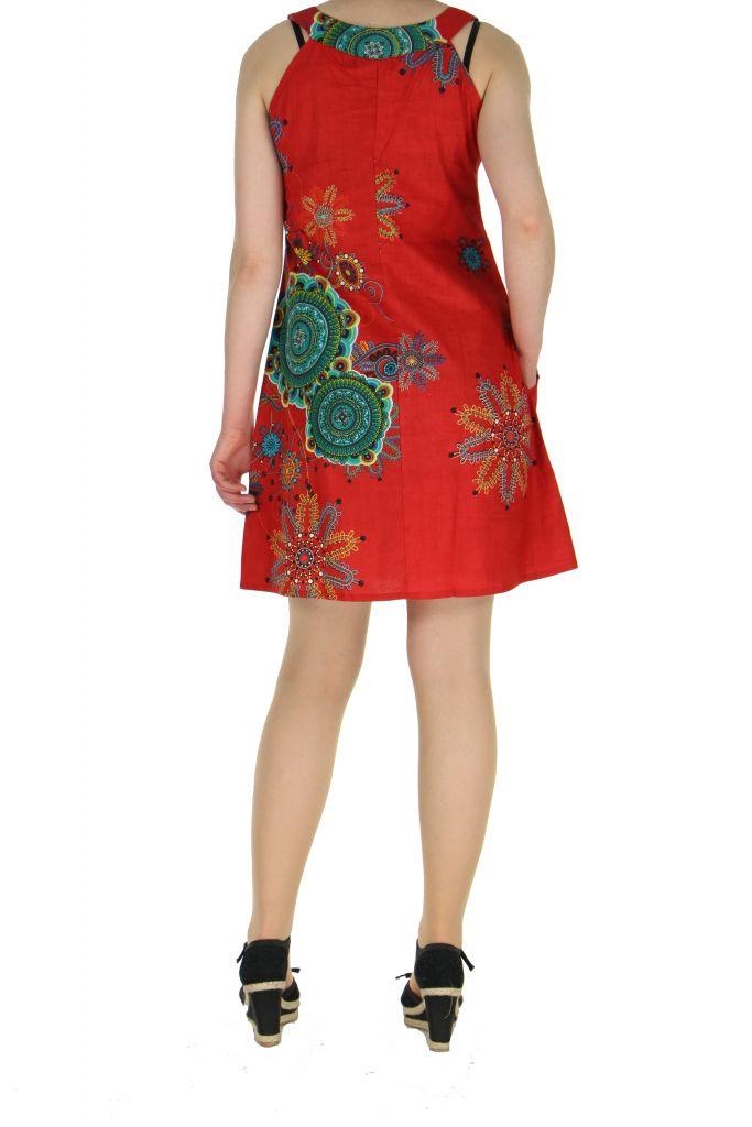 Tunique femme rouge Alyssa 268320