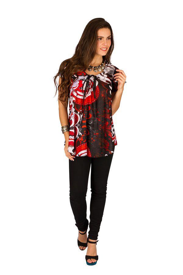 Tunique femme tendance en coton pour l' été Elina 289635