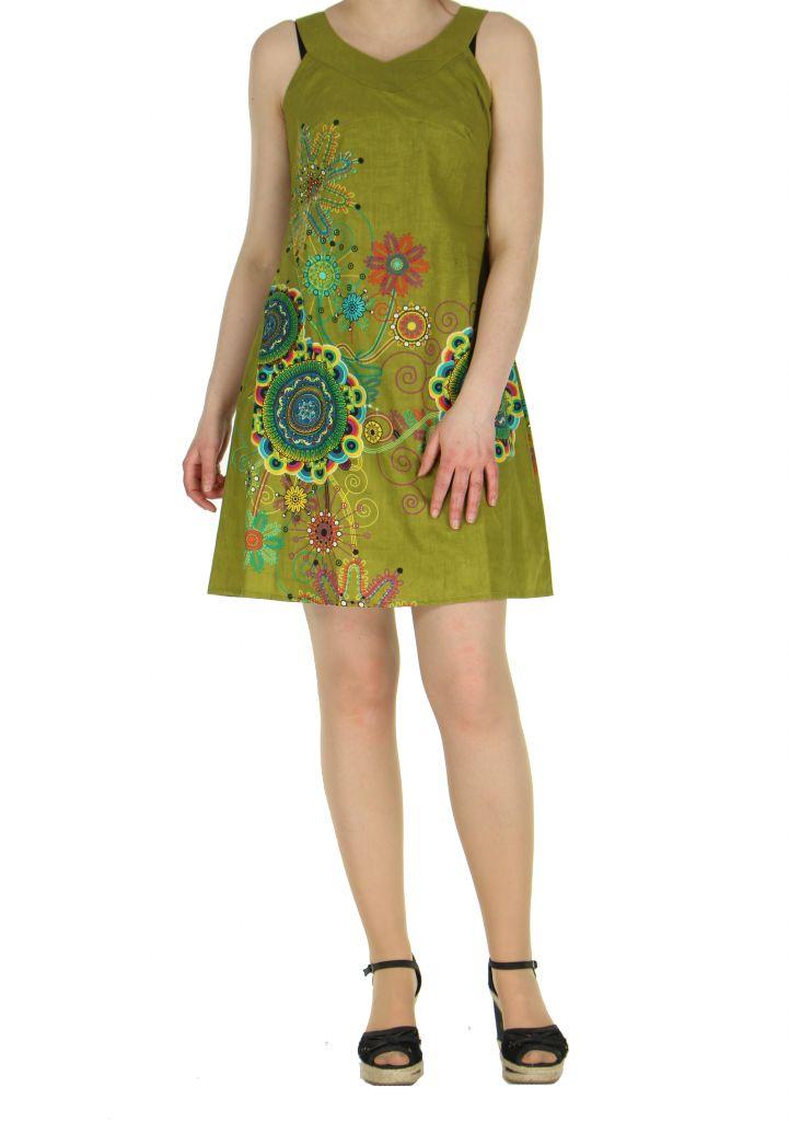 Tunique femme verte Alyssa 268638