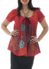 Tunique femmes rondes imprimé fleuri  lako 295347