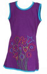 Tunique fille originale violette Mathilda 270897