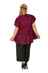 Tunique grande taille à manches courtes très légère Suzy 309832