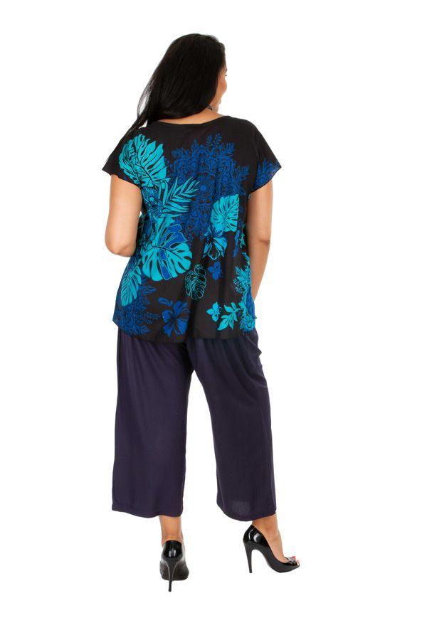 Tunique grande taille ample en coton léger pour l\'été Lola