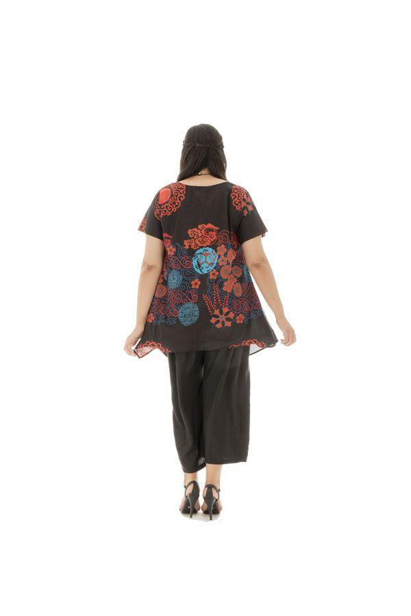 Tunique grande taille colorée et tendance avec imprimés Lorna 295753