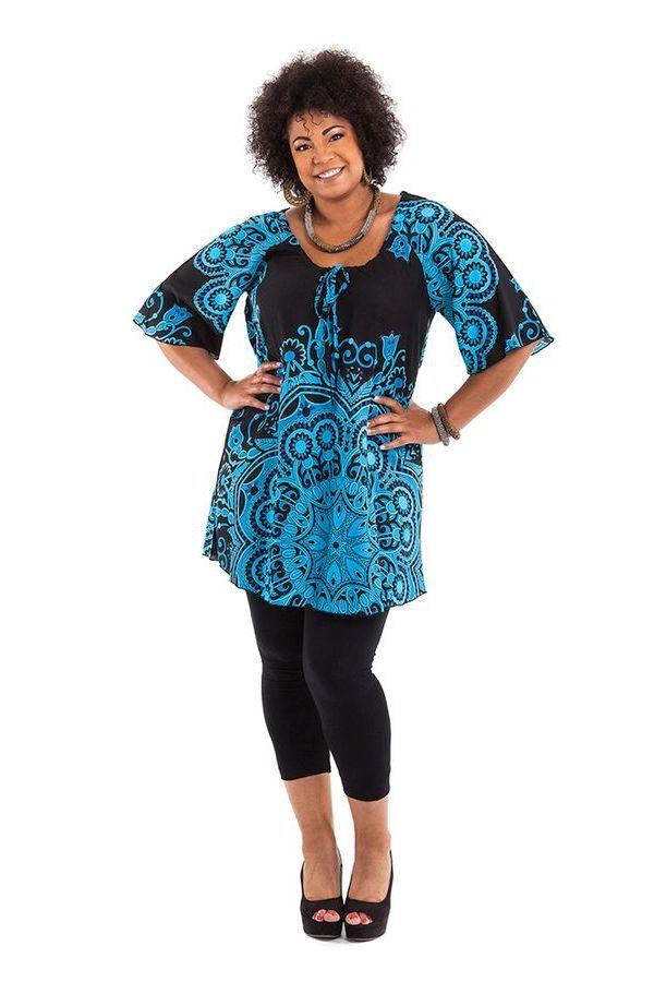 tunique grande taille femme chic et pas chère Apolline 284649
