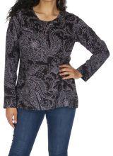 Tunique grande taille femme en coton originale Chamie 313786