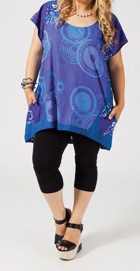 Tunique grande taille femme pulpeuse Madie 271249