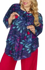 Tunique grande taille pour femme pulpeuse chic habillé Looka