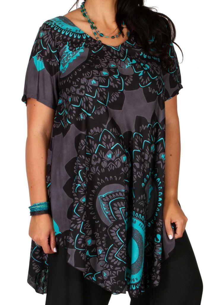 Tunique habillée grande taille pour un look tendance 2019 Servane 306463