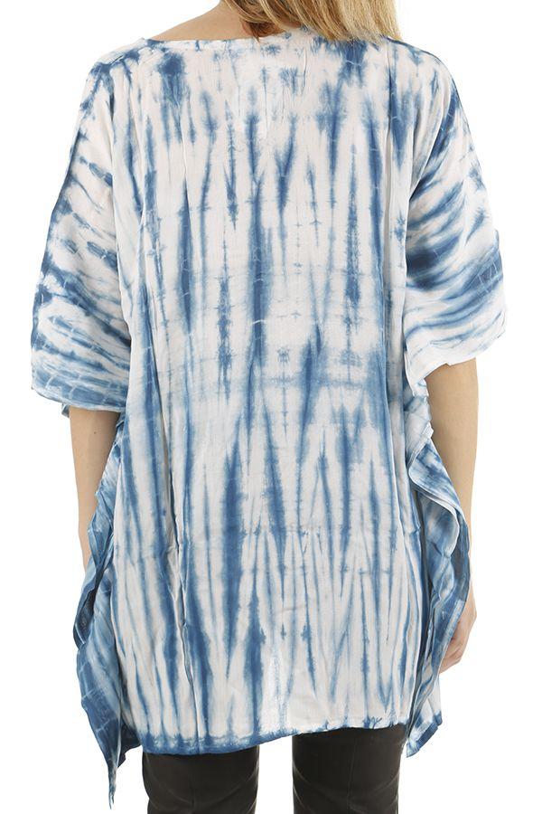 Tunique imprimée Tie and Dye asymétrique et ample Joanna 310455
