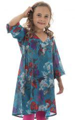 Tunique légère à manches longues et imprimé floral Zepplin 294993