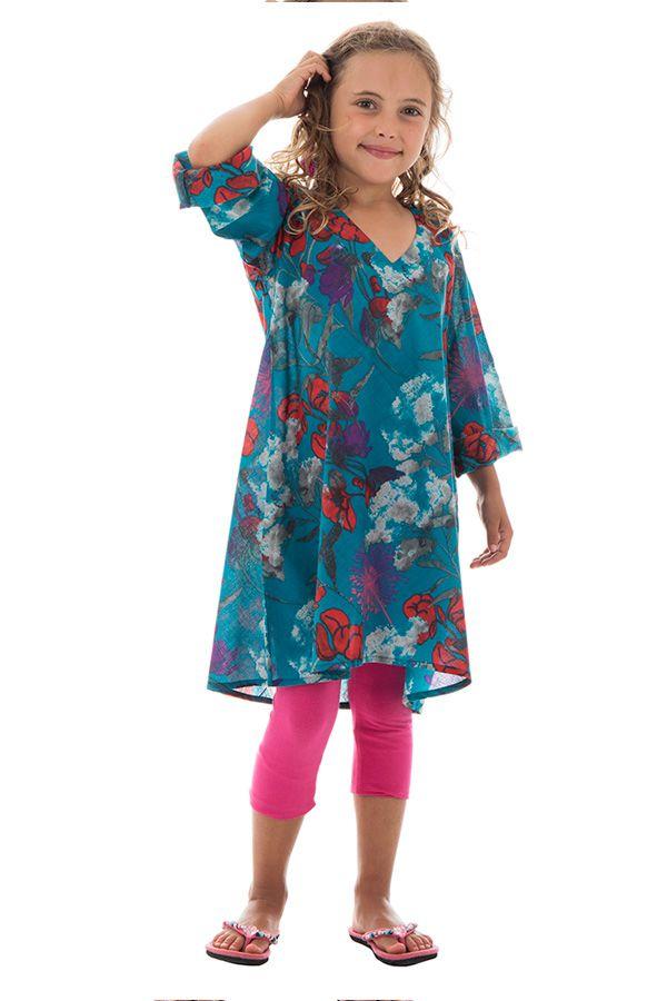 Tunique légère à manches longues et imprimé floral Zepplin 294994