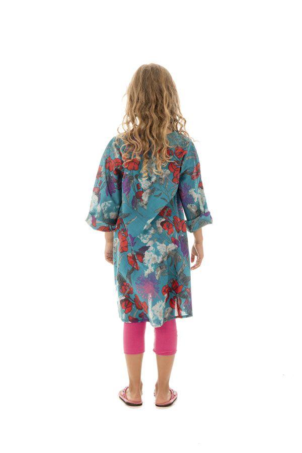 Tunique légère à manches longues et imprimé floral Zepplin 294995