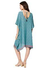 Tunique longue femme été ou robe de plage Jacquelyne