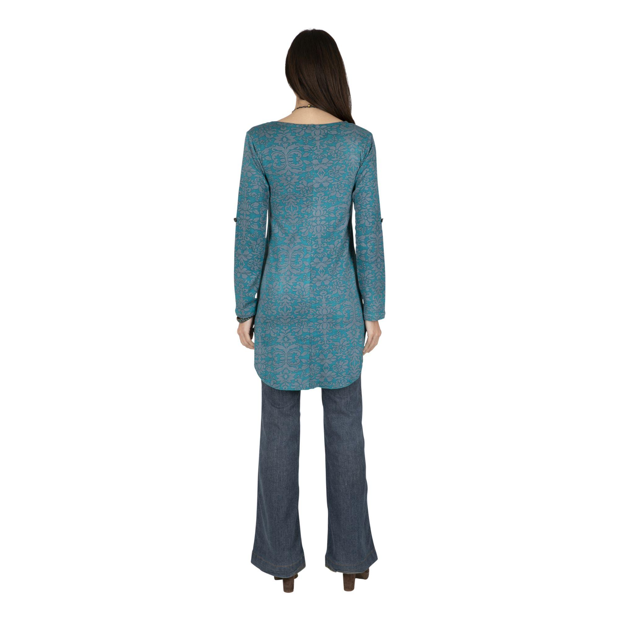 Tunique longue femme fantaisie style bohème Montero