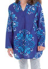 Tunique Lory pour Fille Originale et Pas Chère Bleue 280678