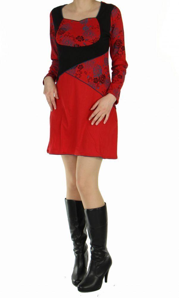 Tunique Népalaise poushi rouge 248779