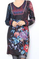 Tunique originale avec un imprimé de fleurs Pricia 304214